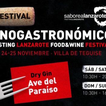 Ave del Paraíso vuelve al festival Enogastronómico Saborea Lanzarote