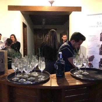 Presentamos nuestro nuevo gin de autor en el Hotel Boutique Palacio Ico