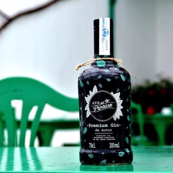 Ave del Paraíso. Dry Gin. Puntos de venta