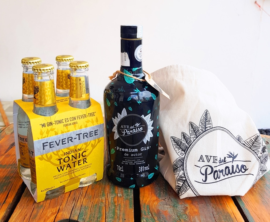 Sorteamos un pack de Ave del Paraíso- Botella, mochila de yute y algodón ecológico y tónicas. Premium Gin